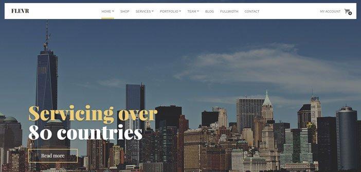Flevr – The Last Business / E-Commerce WordPress Theme