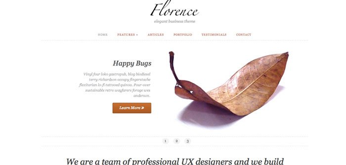 Florence - Business WordPress Theme
