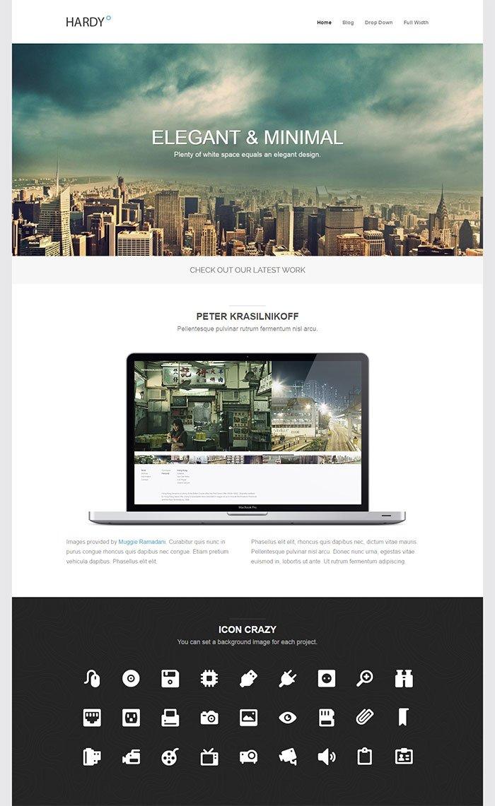 Hardy WordPress Theme