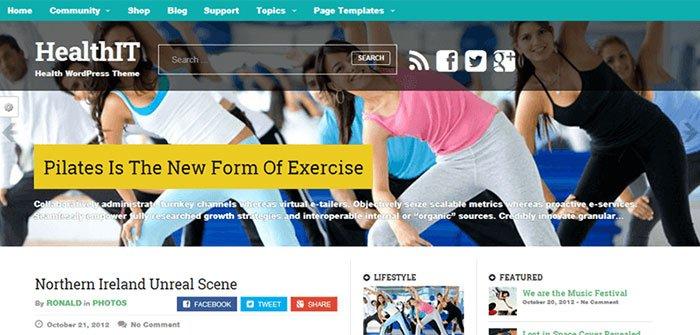 Healthit WordPress Theme