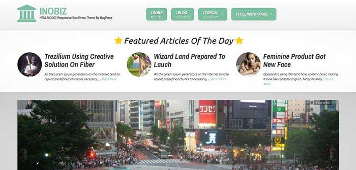 InoBiz - Magazine WordPress Theme