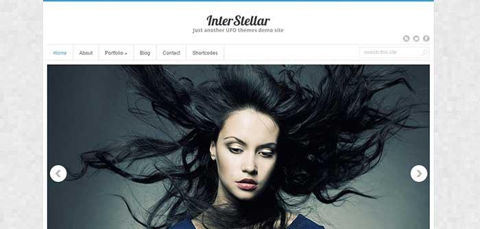 InterStellar - Free WordPress Theme