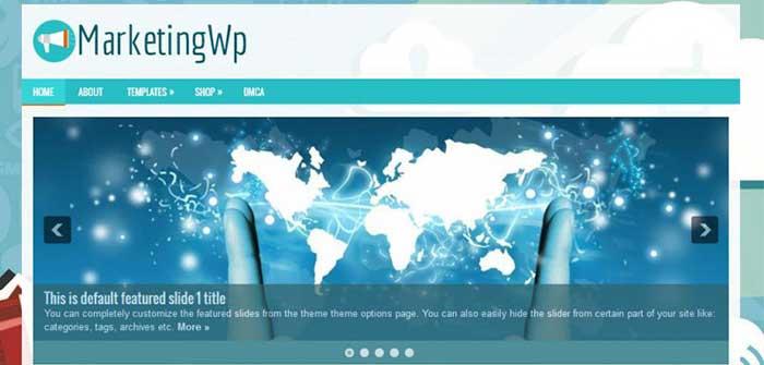 MarketingWp - Blog WordPress Theme