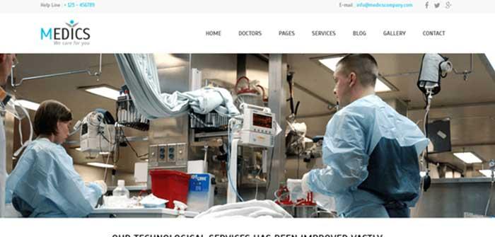 Medics - Medical WordPress Theme