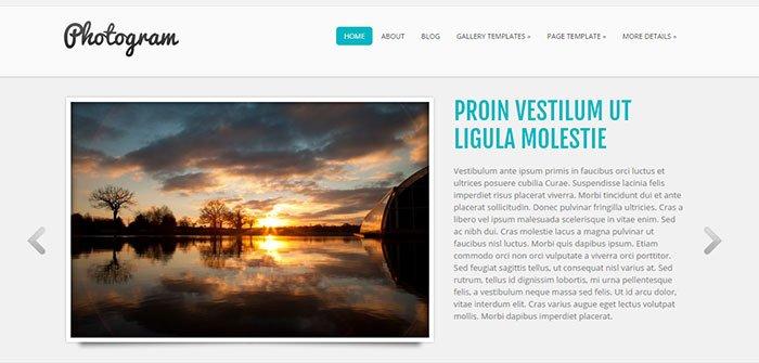 Photogram - Photography WordPress Theme