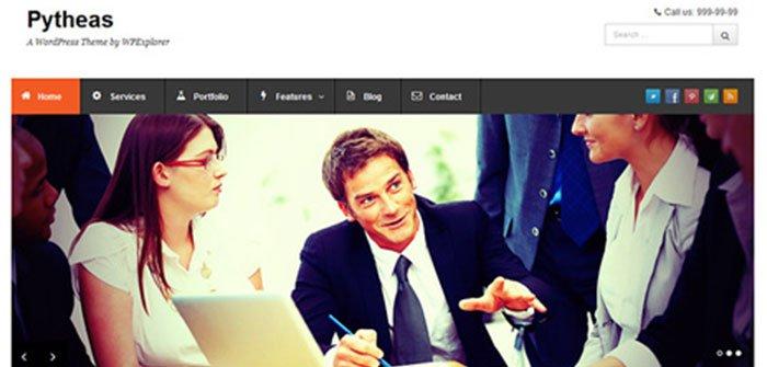 Pytheas - Business WordPress Theme