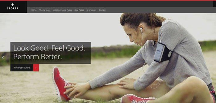 Sporta - eCommerce WordPress Theme