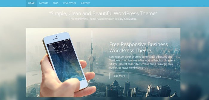 Ultimate - Business WordPress Theme
