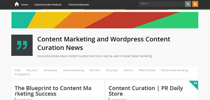 expresscurate wordpress theme