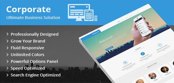 Corporate – An Ultimate Business Solution WordPress Theme