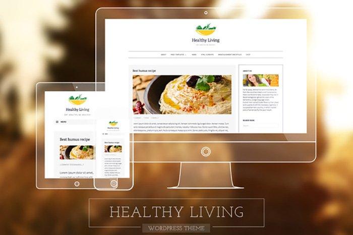 Healthy Living Fresh Blogging Theme