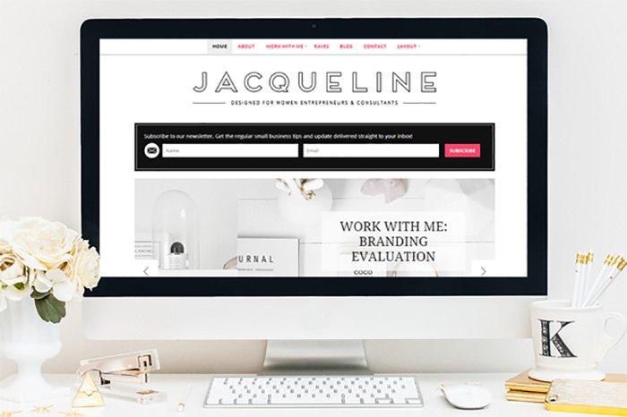 Jacqueline WordPress Theme