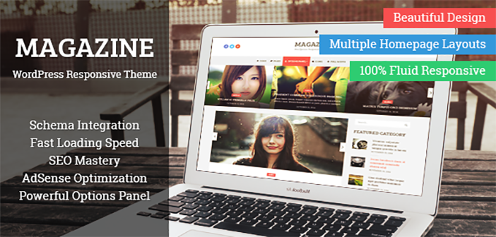 Magazine – A Beautiful yet Elegant Magazine WordPress Theme