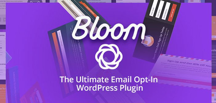 Bloom – The Ultimate Email Opt-In Plugin For WordPress