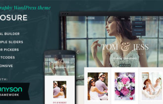 Exposure – A Professional Photography WordPress Theme