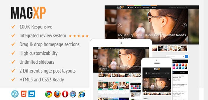 MagXP – The Ultimate Magazine WordPress Theme