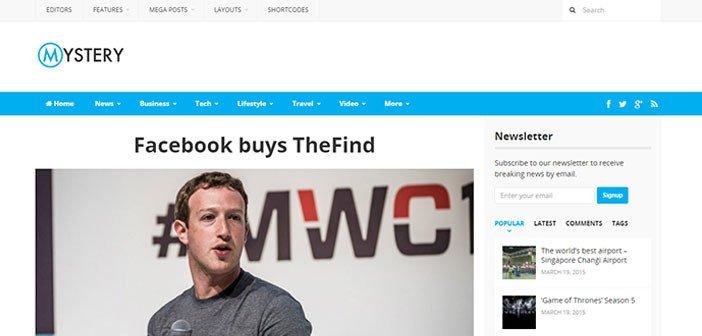 Mystery – Professionally Designed WordPress Magazine Theme