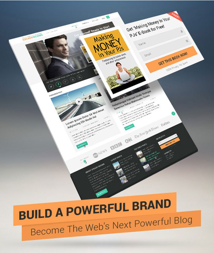 steadyincome theme