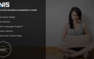 Avis – A Minimal Consulting Business WordPress Theme