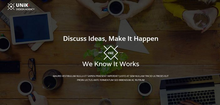 Unik – A Creative Multipurpose WordPress Theme