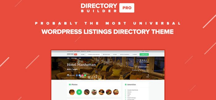 Directory Builder Pro WP Theme