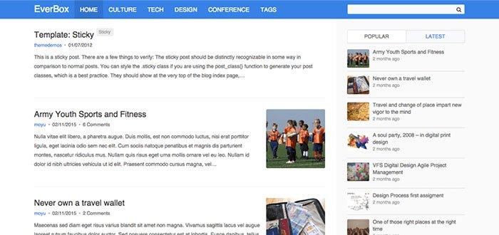 EverBox WordPress Theme