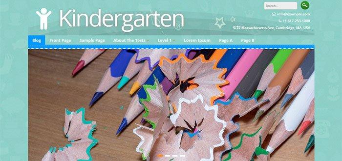 Kindergarten WordPress Theme