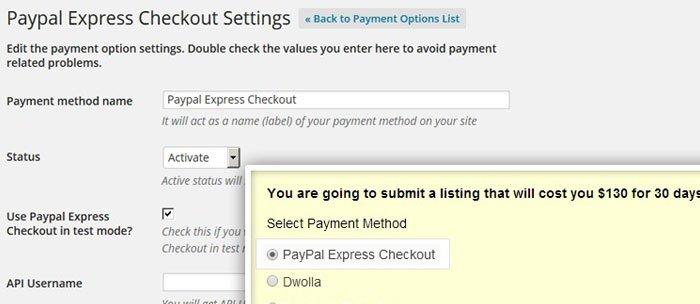 PayPal Express Checkout Payment Gateway Plugin