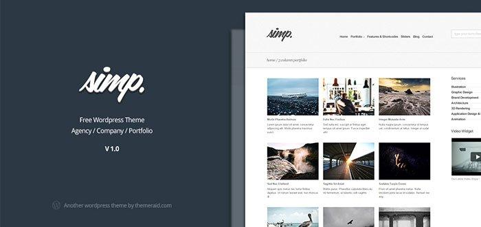Simp WordPress Theme