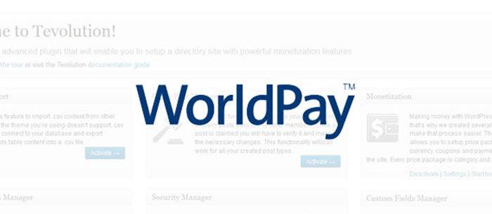 WorldPay Payment Gateway Plugin
