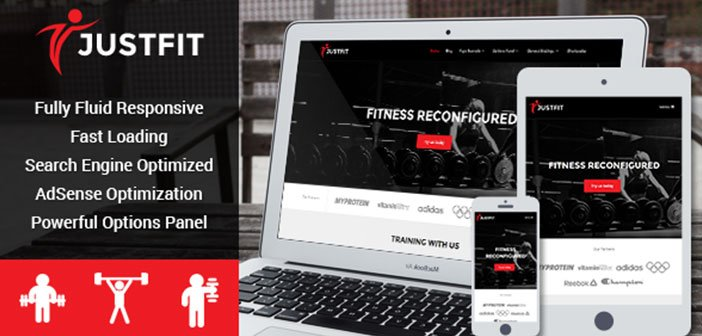 JustFit – Ultimate Fitness and Exercise WordPress Theme