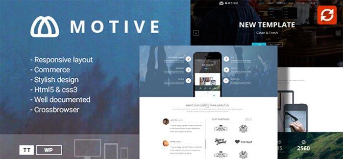 motive wordpress theme