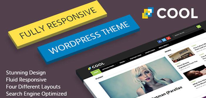 Cool – A Stunning, Modern and Responsive WordPress Theme