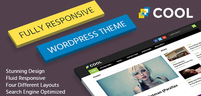 Cool – A Stunning, Modern and Responsive WordPress Theme