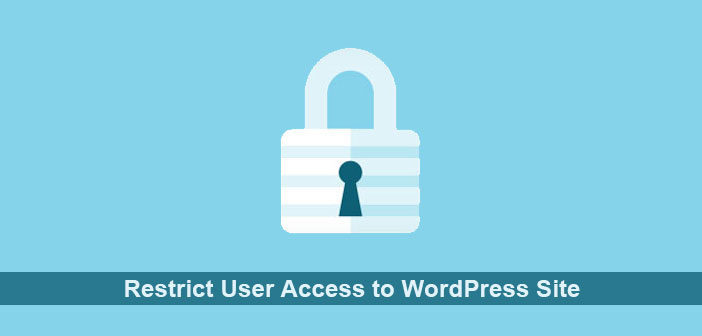 Want to Restrict User Access to WordPress Site? Try These Plugins