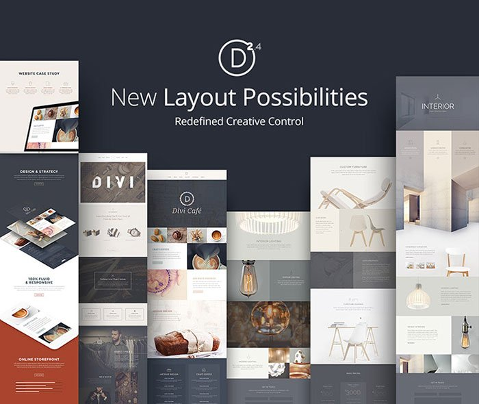 divi 2.4 layouts