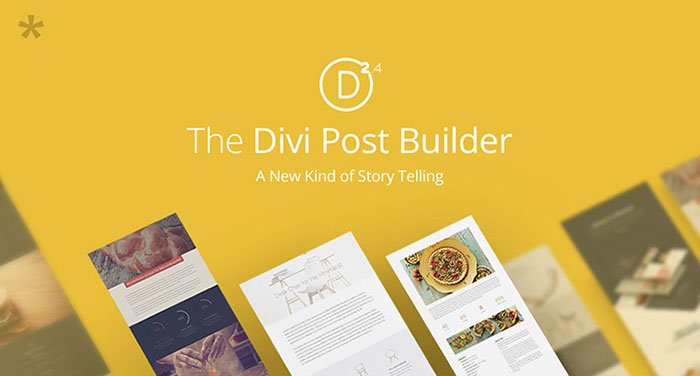 divi2.4 post builder