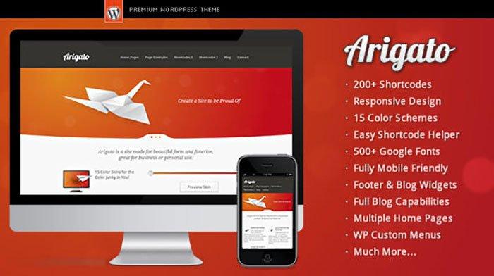 Arigato WordPress Theme