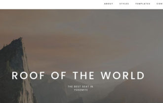 Dune – A Beautiful, Functional WordPress Theme for Photobloggers