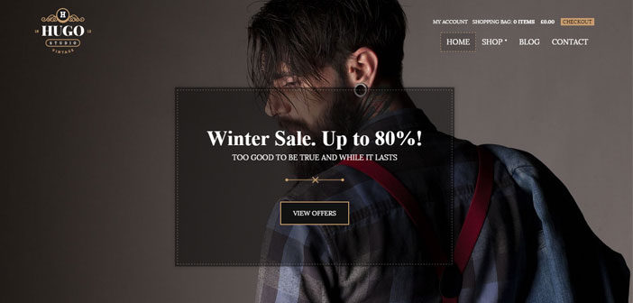 Hugo – A Beautiful eCommerce WordPress Theme
