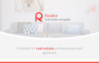 Realtor – A Modern Real Estate WordPress Theme