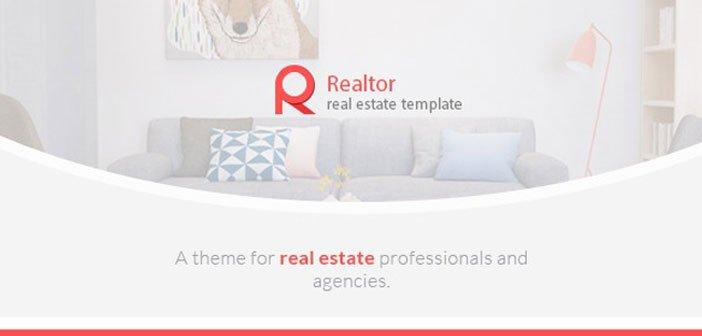 Realtor – A Modern Real Estate WordPress Theme