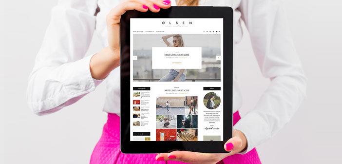 Olsen – A Stunning Blogging Theme for WordPress