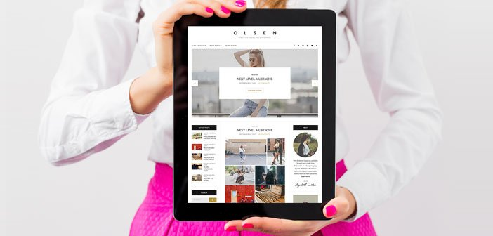 Olsen – A Stunning Blogging Theme for WordPress
