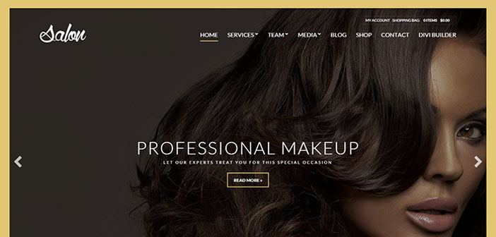Salon – A Spa & Beauty Salon WordPress Theme