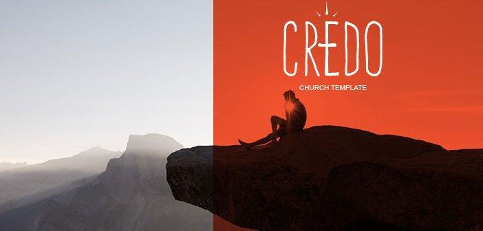 Credo – A Neat & Clean Church WordPress Theme