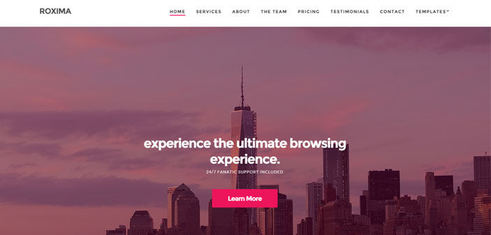 Roxima – The Most Flexible Business WordPress Theme