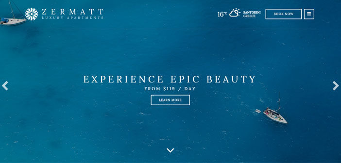 Zermatt – A next generation responsive Hotel WordPress theme