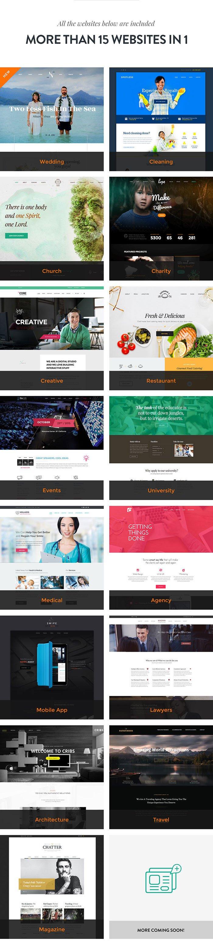 The-Core-WordPress-Theme-15-in-1
