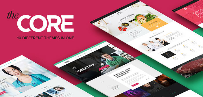 15 in 1 Theme – The Core Beautiful & Solid WordPress Theme